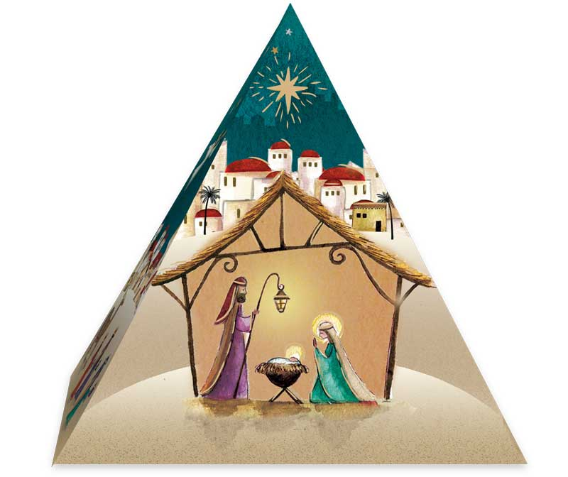 Nativity Pyramid