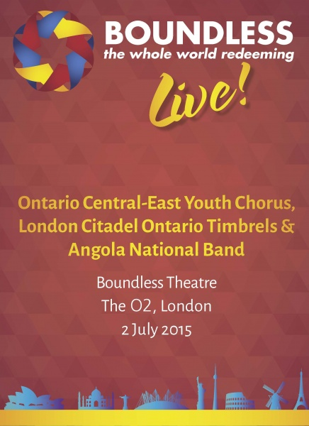 Boundless Live! Concert-Ontario Central East Yth Chorus, London Citadel Timbrels, Angola National Bd