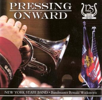Pressing Onward - CD