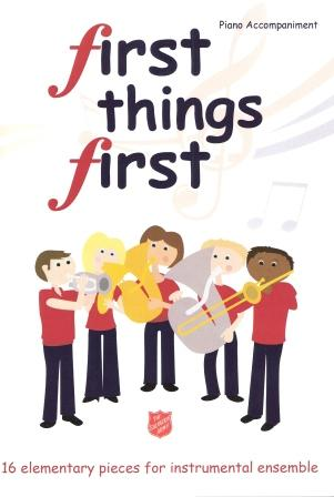First Things First Vol. 1 Piano Accompaniment