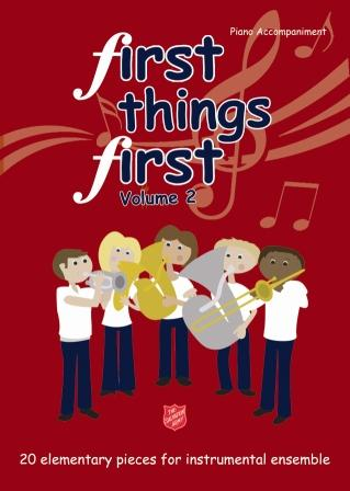 First Things First Vol.2 Piano Accompaniment