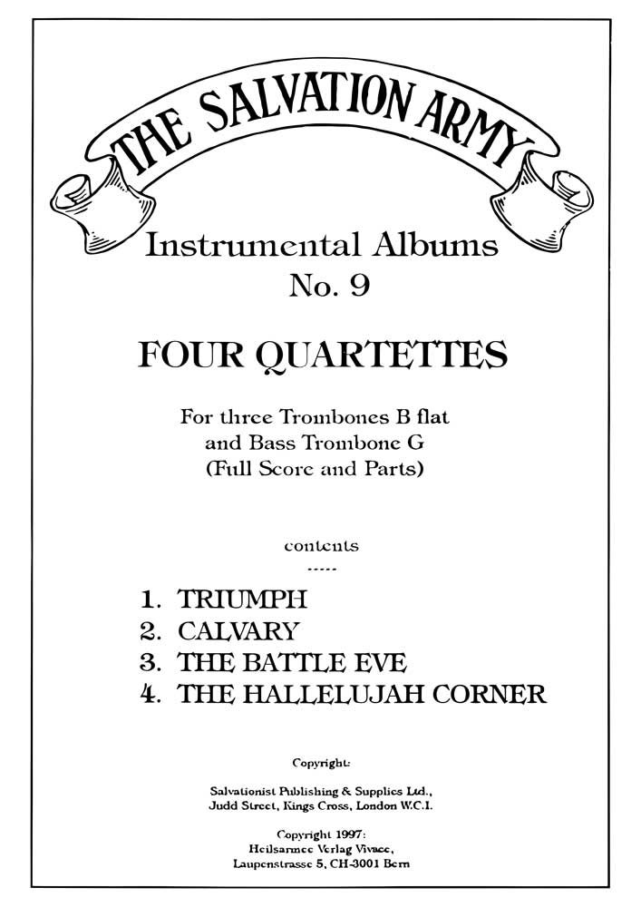 Instrumental Album No.9 - Four Quartettes