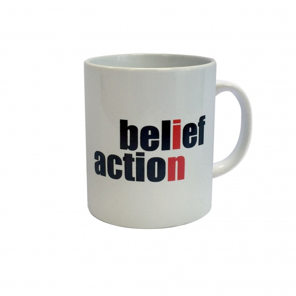 Belief in Action Mug