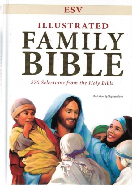 ESV Illustrated Family Bible