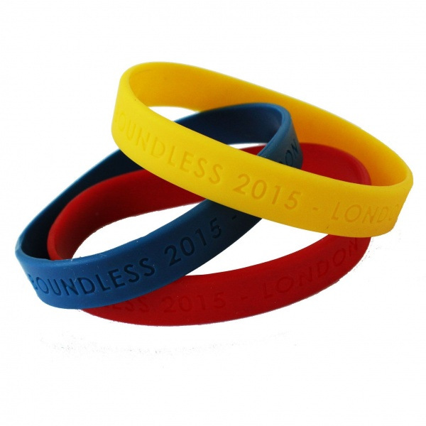 Boundless Silicone Wristband