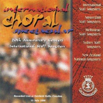 International Choral Spectacular - CD