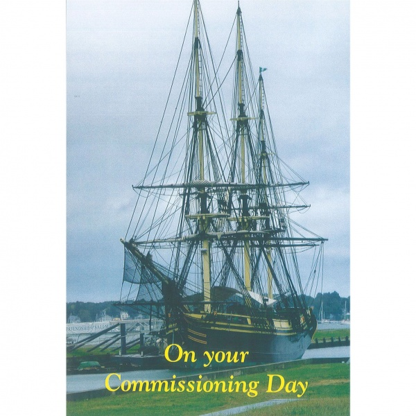 Commissioning Card - Ship