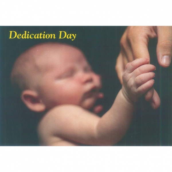 Dedication Card - Baby