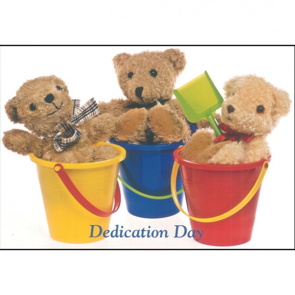 Dedication Card - Teddies