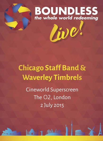Boundless Live! Concert - Chicago Staff Band and Waverley Timbrels