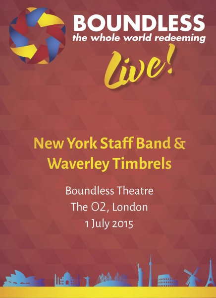 Boundless Live! Concert - New York Staff Band and Waverley Timbrels