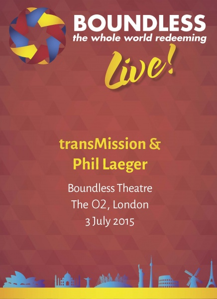 Boundless Live! Concert - transMission and Phil Laeger