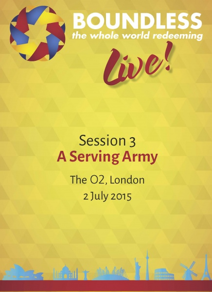 Boundless Live! Session 3 - A Serving Army (Founder's Day)
