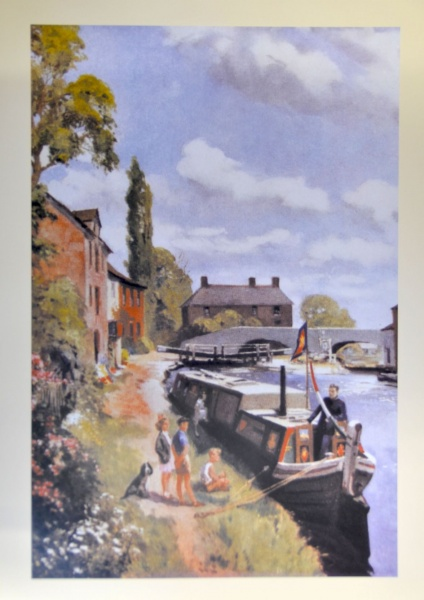 Evangelism on Waterway Framed Print