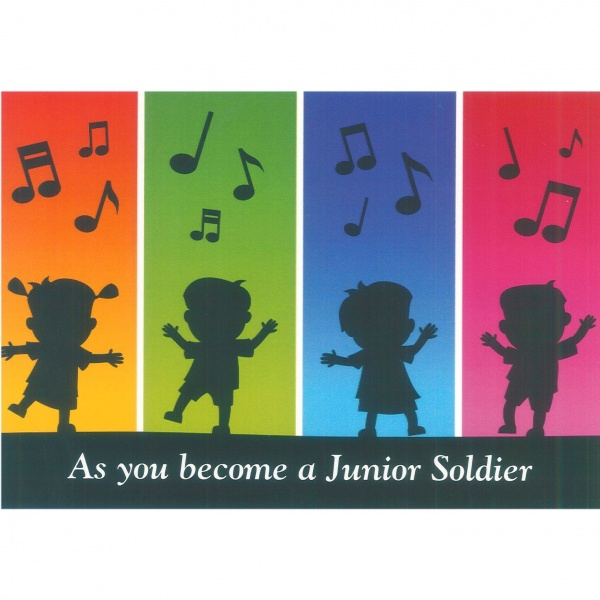 Junior Soldier Card - Dancing Kids