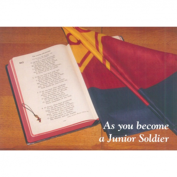 Junior Soldier Card - Hymn