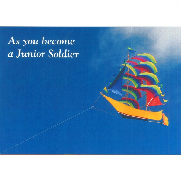 Junior Soldier Card - Kite