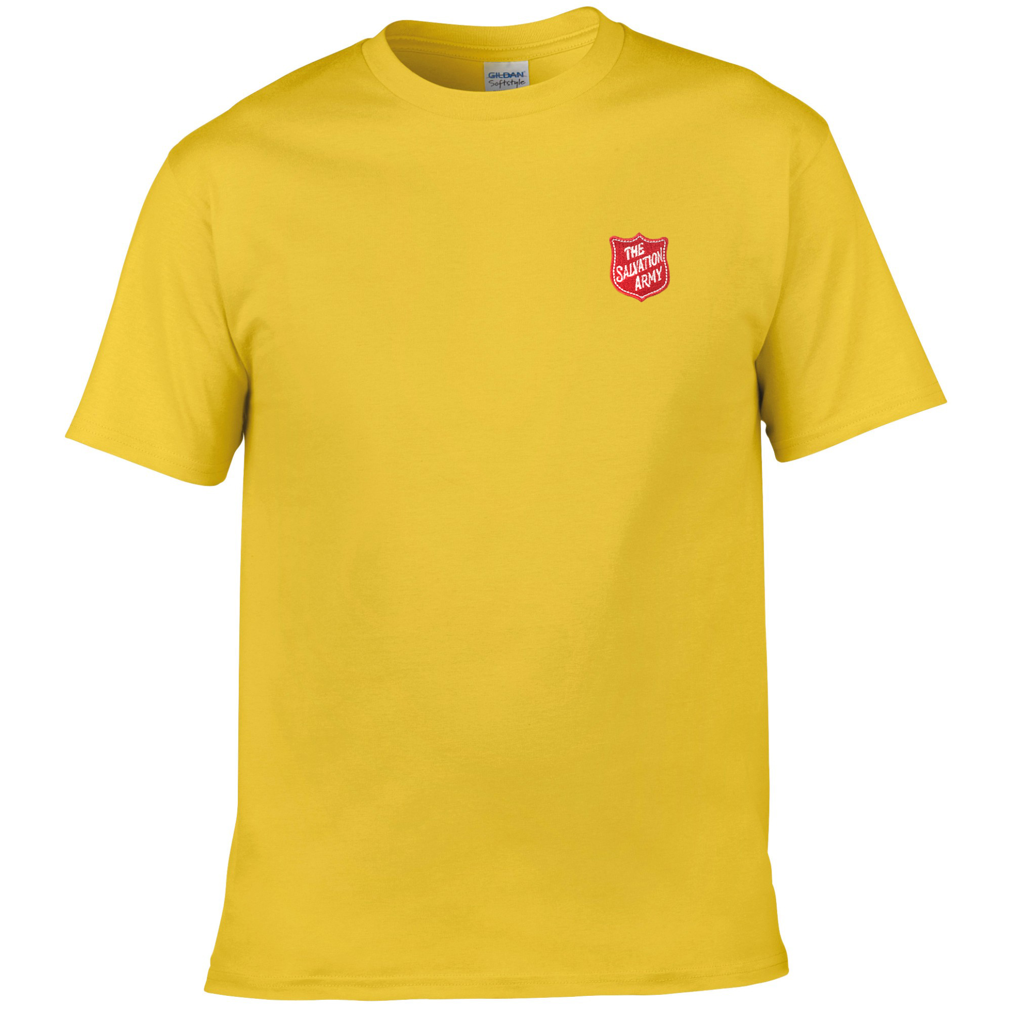 Essentials T Shirt - Yellow with Shield