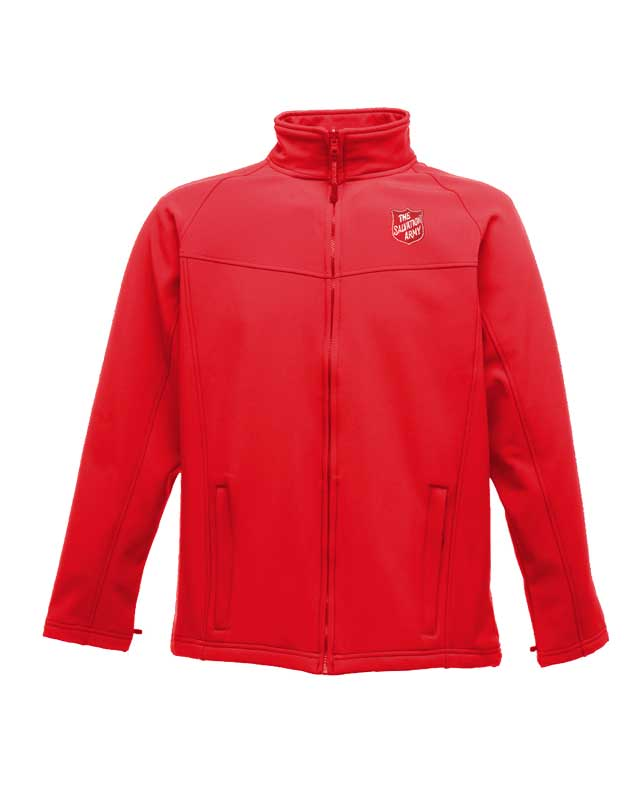 Men's Softshell Jacket - Red
