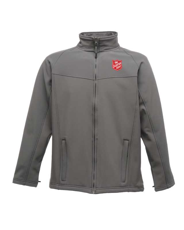 Men's Softshell Jacket - Grey