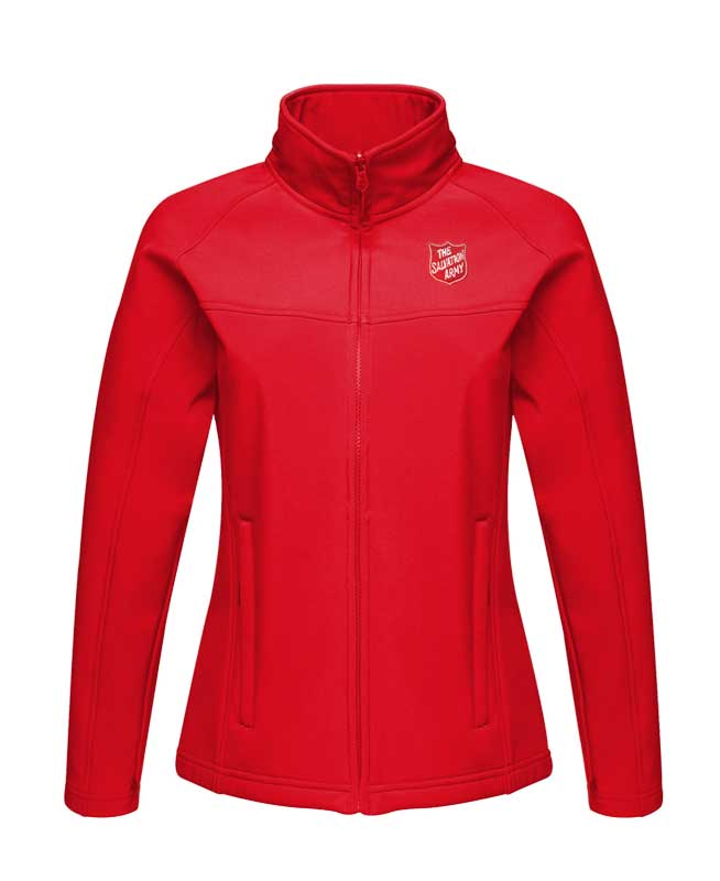 Ladies Softshell Jacket - Red