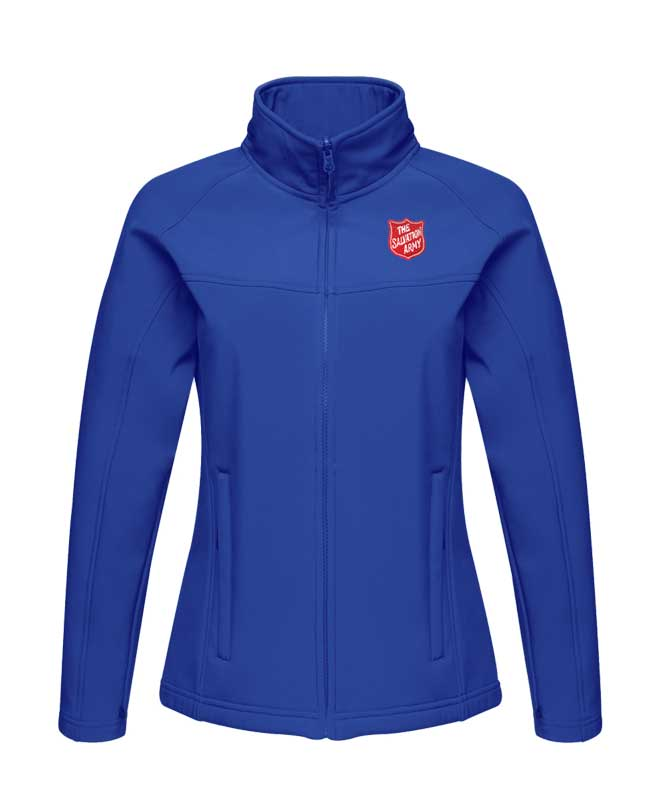 Ladies Softshell Jacket - Blue