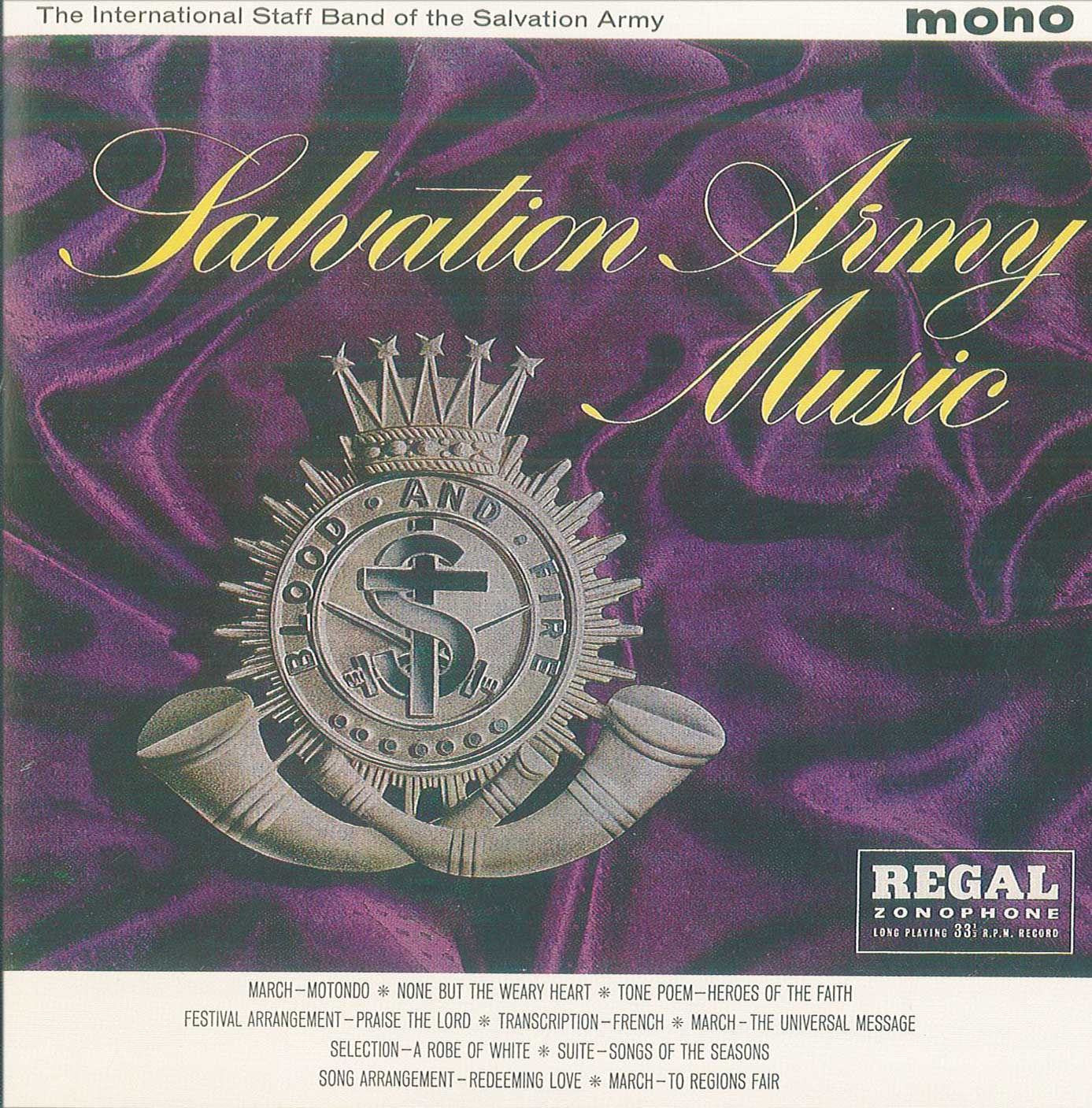 Salvation Army Music - Download