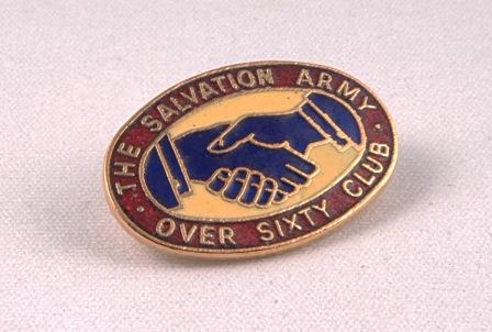 Badge Over Sixty Club