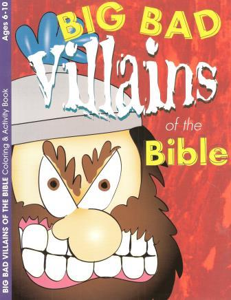 Big Bad Villains of the Bible Activity-  6-10