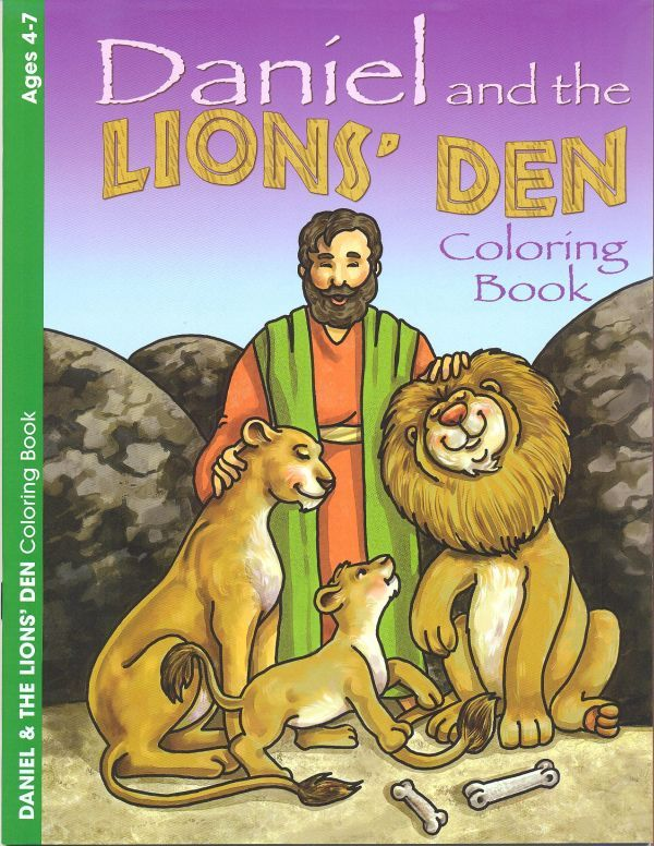 Daniel and the Lion's Den - Colouring Book