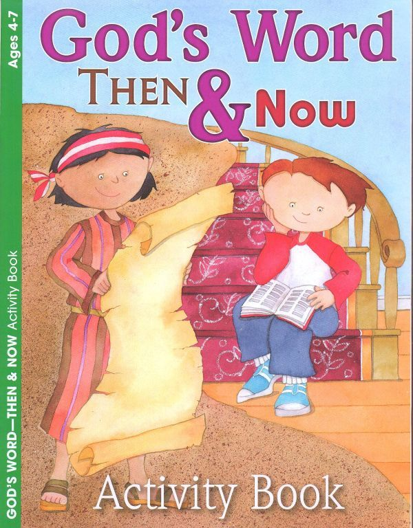 God's Word Then & Now - Activity Book