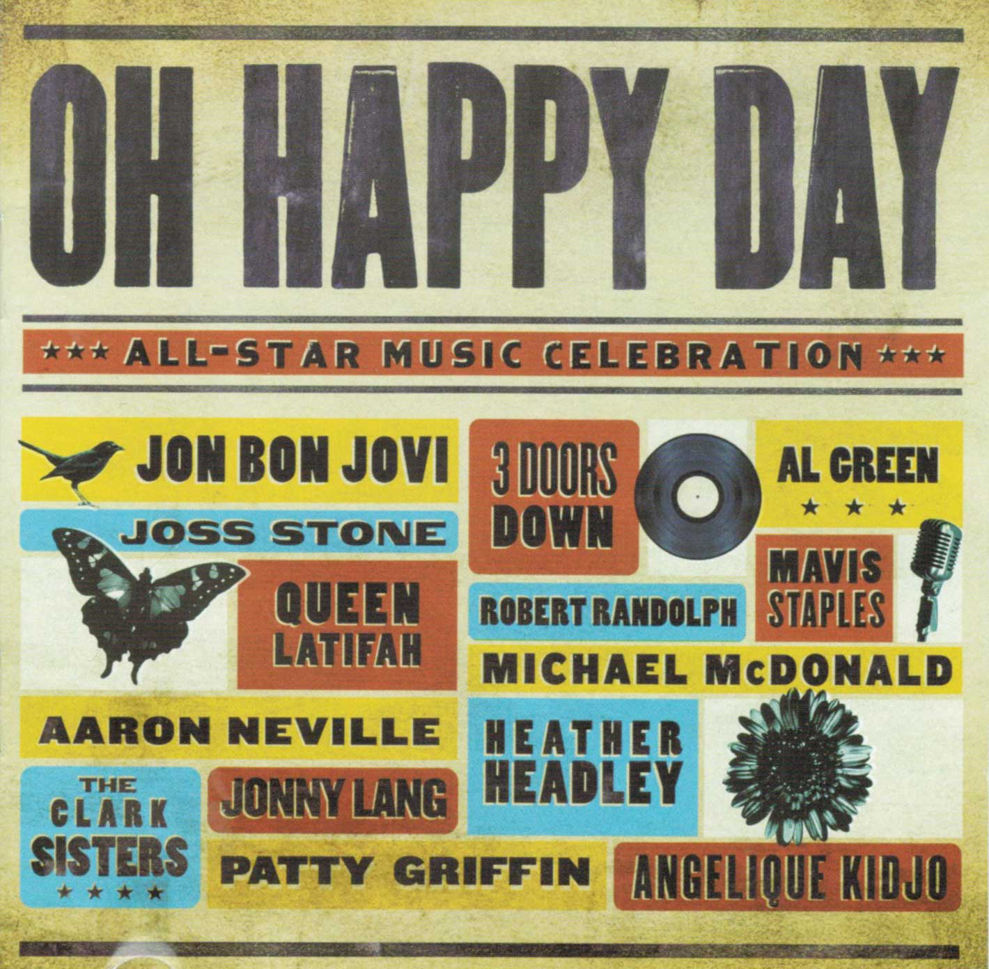 Oh Happy Day - CD