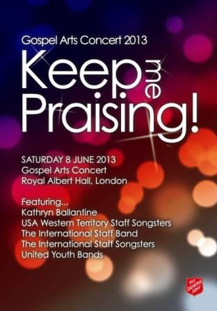 Keep Me Praising Gospel Arts 2013