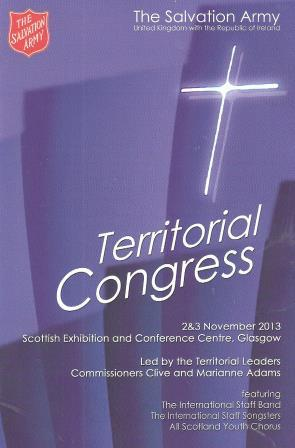 Territorial Congress 2013