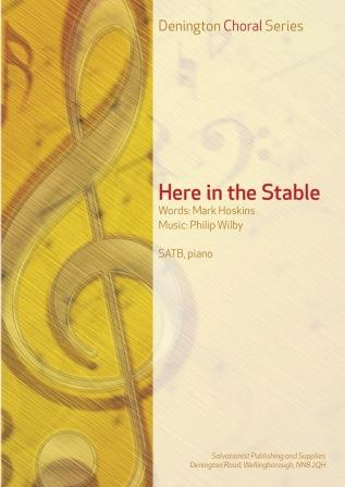 HERE IN THE STABLE - SATB