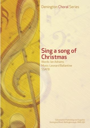 SING A SONG OF CHRISTMAS - SSATB