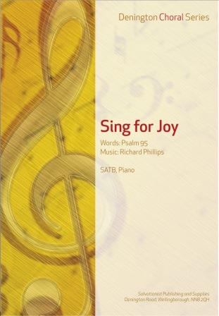 SING FOR JOY (PSALM 95) - SATB