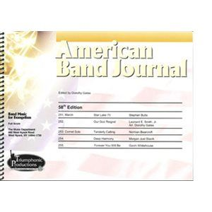 American Band Journal 58th Edition (Spring 2007)