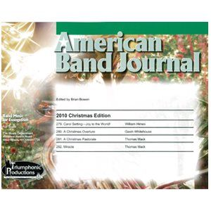 American Band Journal 65th Edition (Christmas 2010)