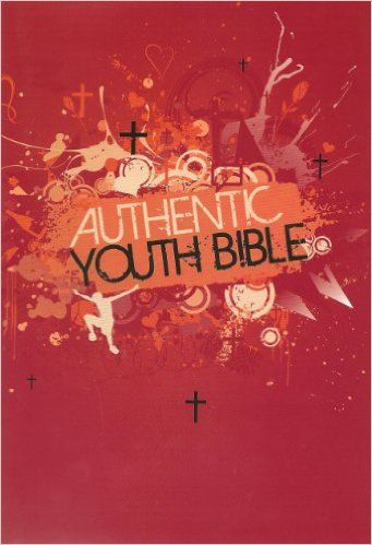 Authentic Youth Bible red