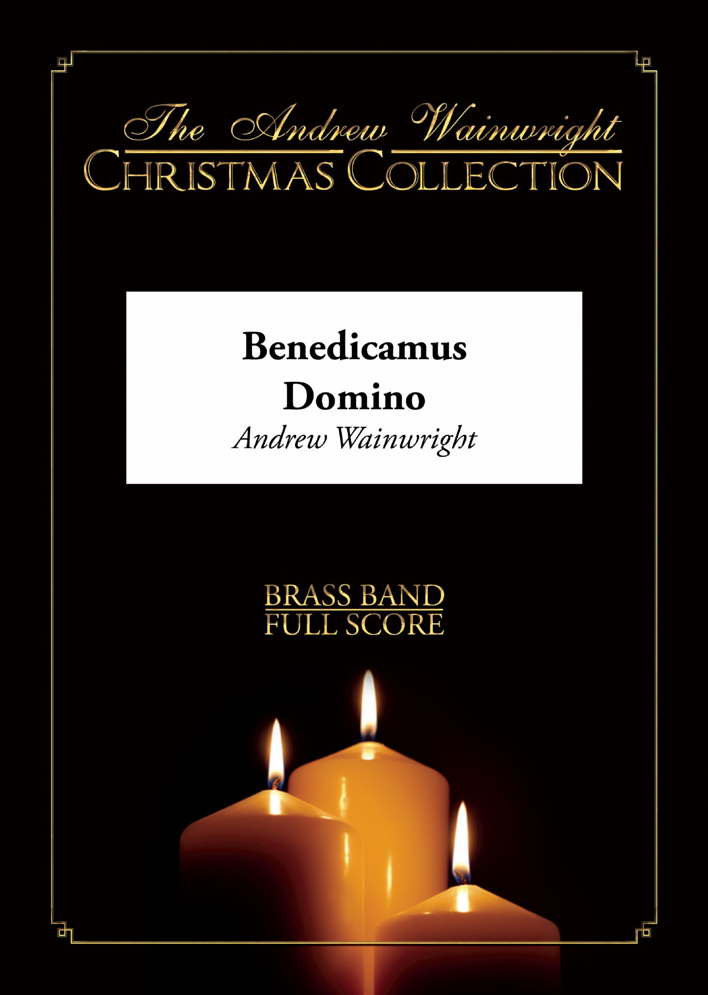 Benedicamus Domino (Brass Band - Score and Parts)