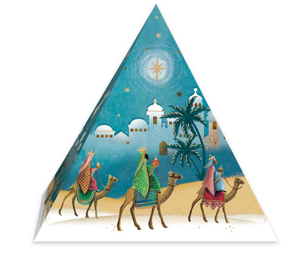 Nativity 3D Pyramid