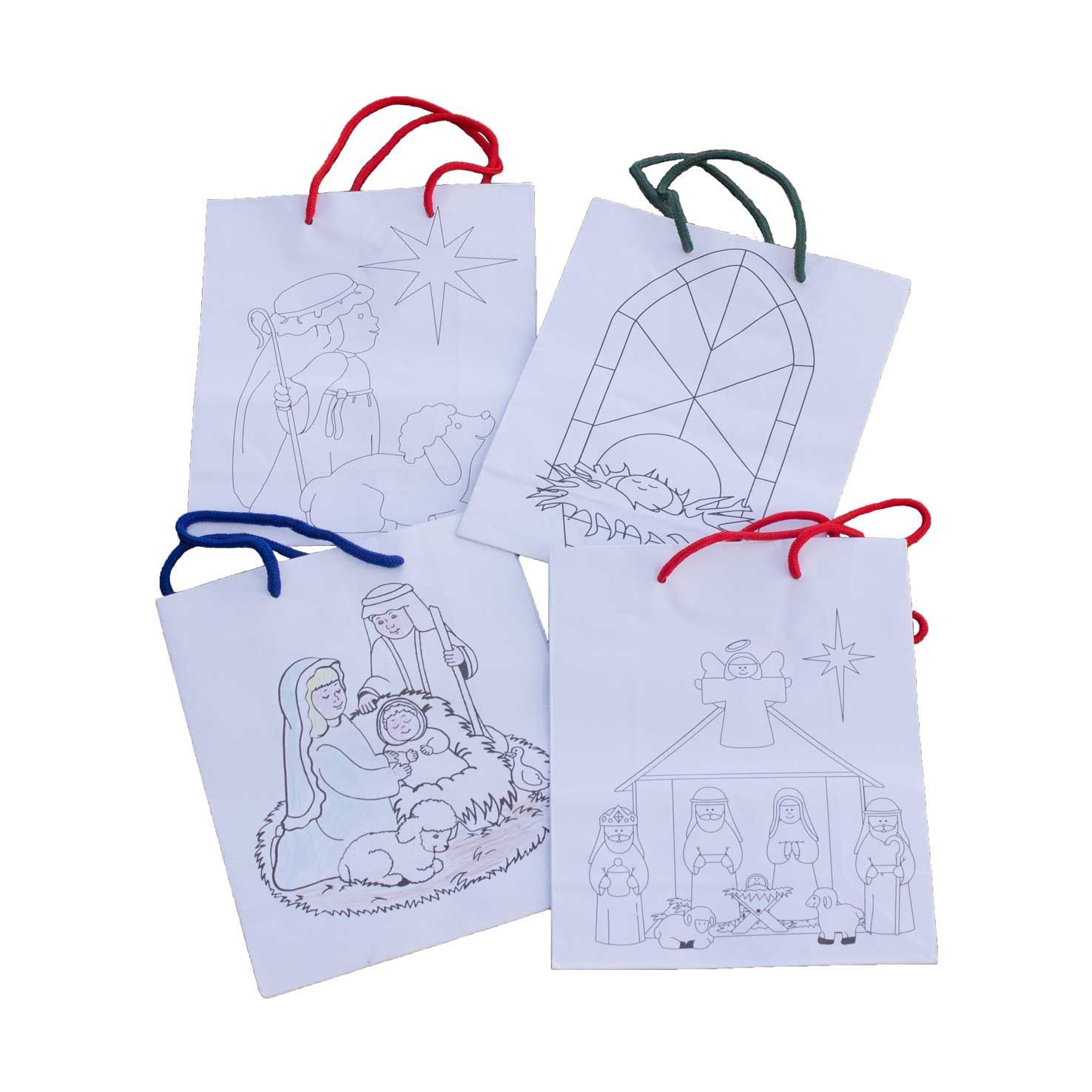 Colour Your Own Gift Bag