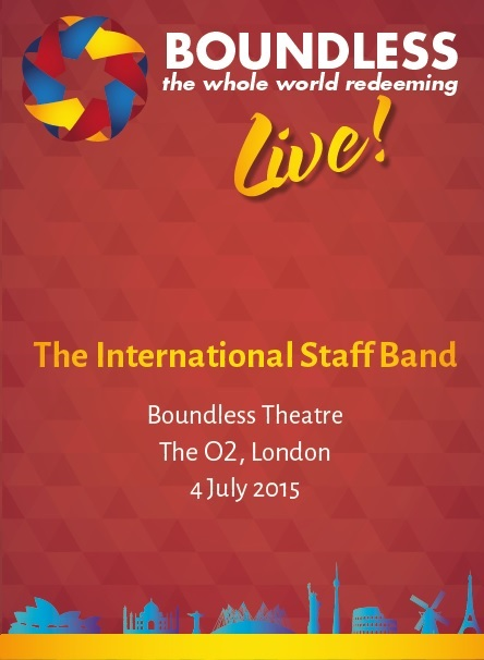 Boundless Live! Concert - International Staff Band
