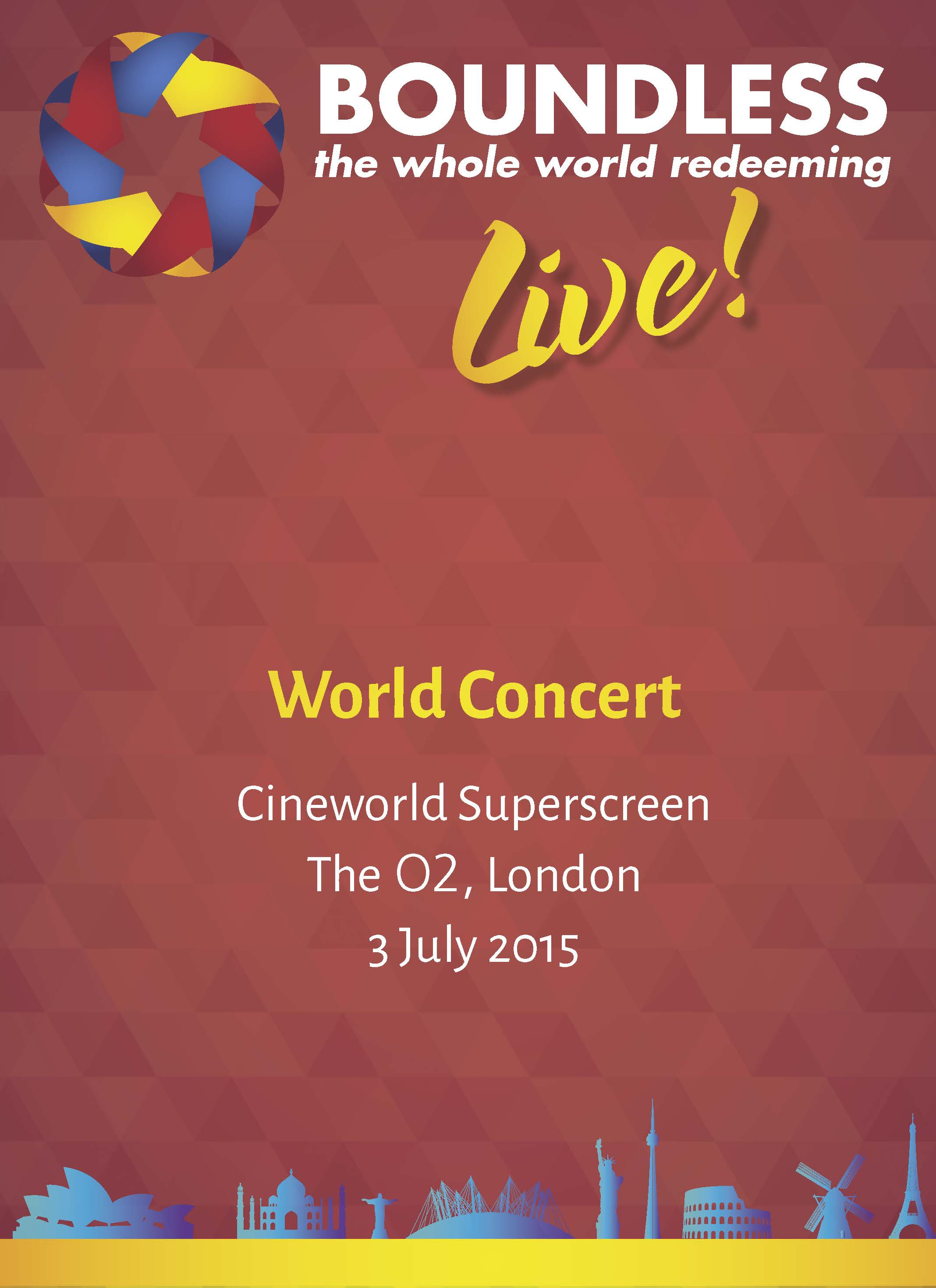 Boundless Live! Concert - World Concert