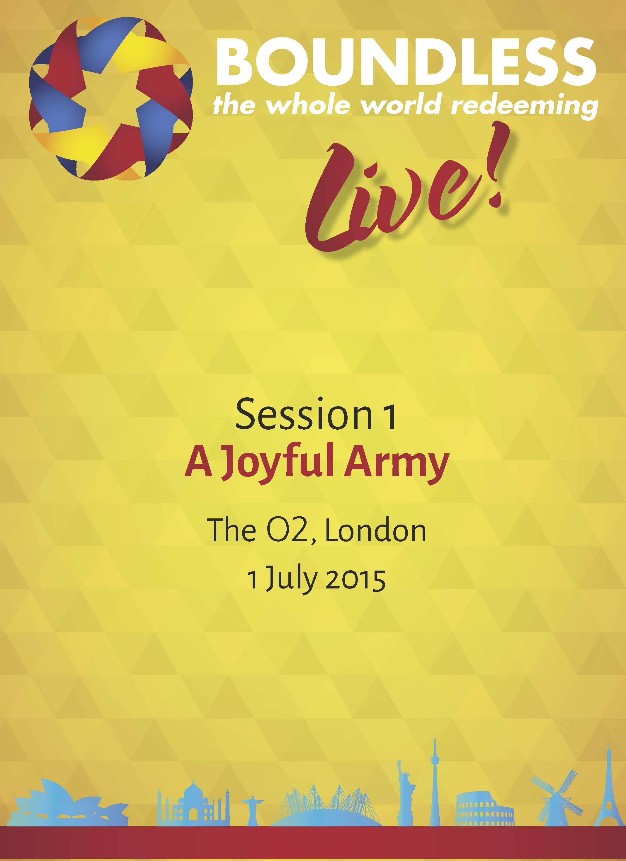 Boundless Live! Session 1 - A Joyful Army