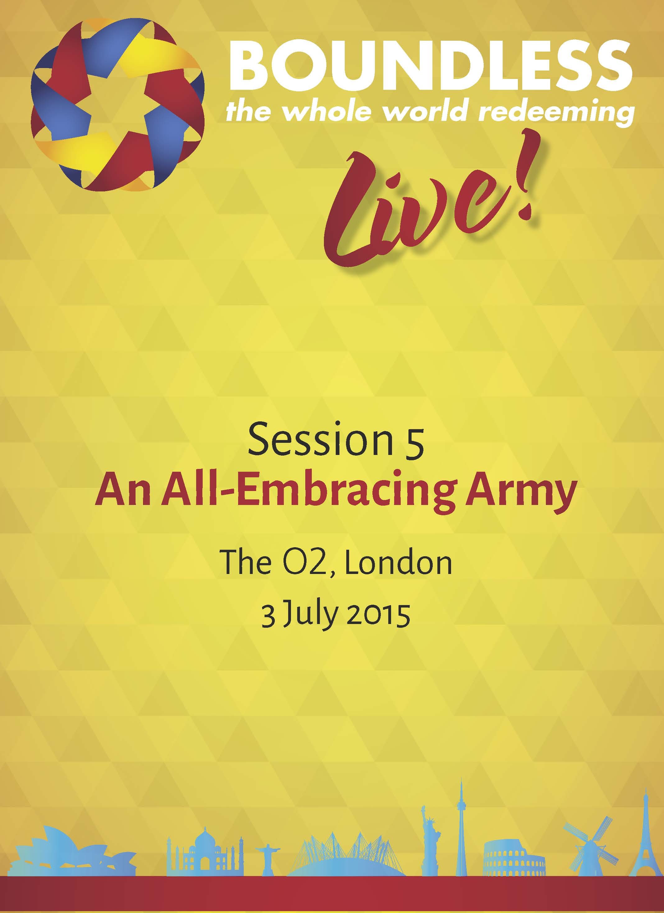 Boundless Live! Session 5 - An All-Embracing Army