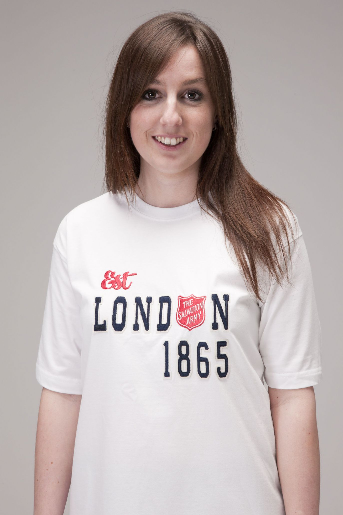 Est London 1865 White Fairtrade T-shirt