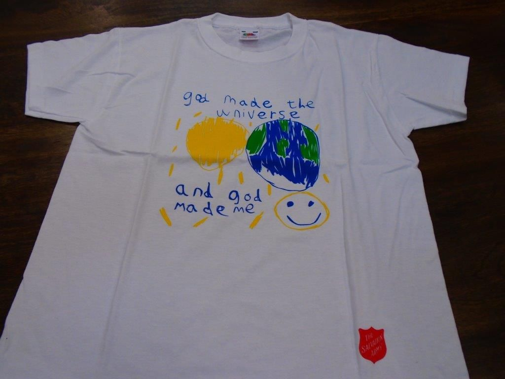 God Made the Universe Child's T-Shirt