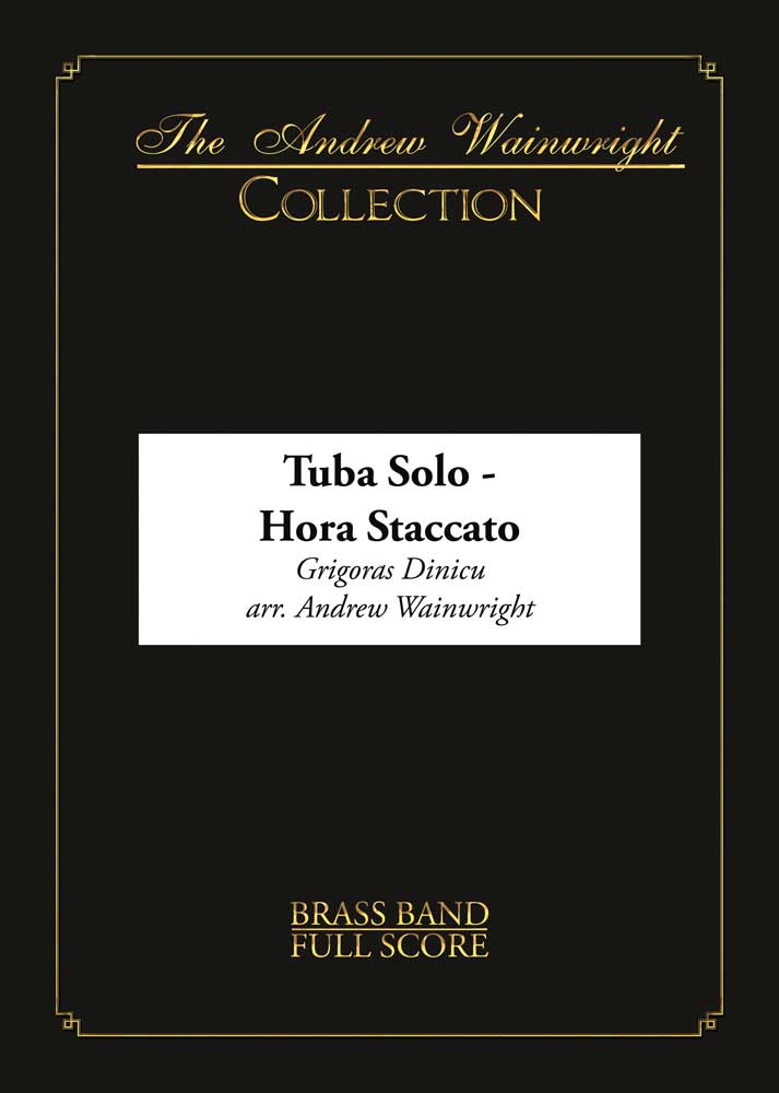 Hora Staccato (Eb Bass with Brass Band - Score and Parts)